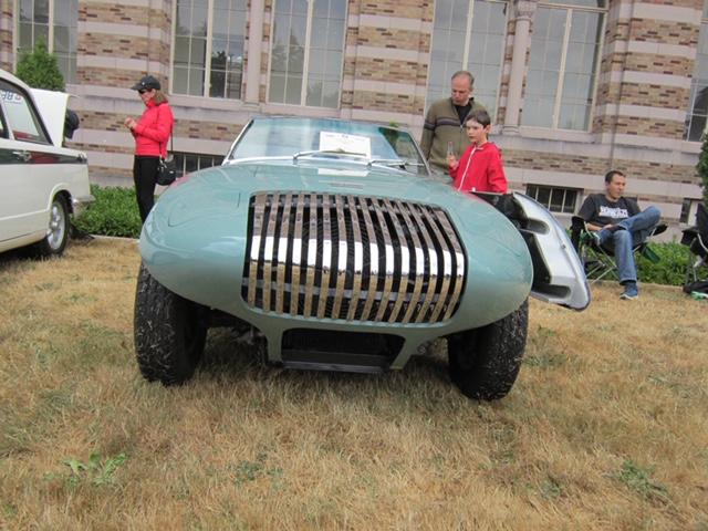 Custom Bodied 1960 TR3